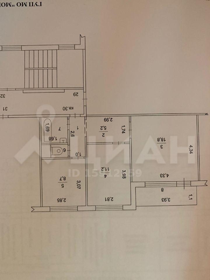 Продажа двухкомнатной квартиры поселок городского типа Некрасовский, цена 4000000 рублей, 2020 год объявление №395319 на megabaz.ru
