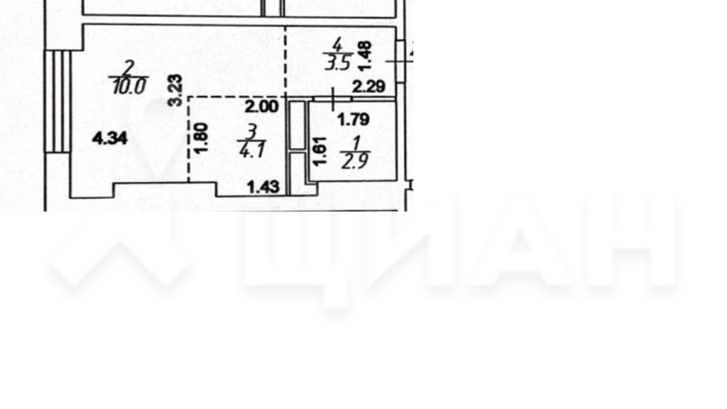Продажа студии Москва, метро Черкизовская, Амурская улица 1Ак4, цена 5800000 рублей, 2021 год объявление №478157 на megabaz.ru