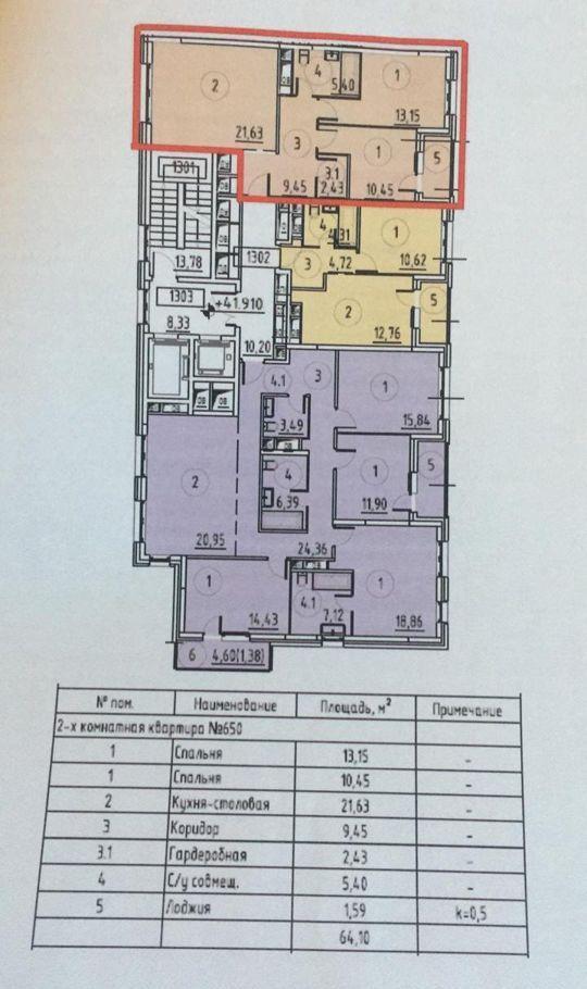 Продажа двухкомнатной квартиры поселок Отрадное, Пятницкое шоссе с3, цена 7750000 рублей, 2020 год объявление №432145 на megabaz.ru