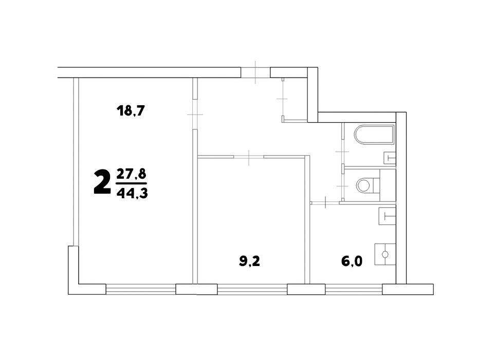 Продажа двухкомнатной квартиры Москва, метро Бабушкинская, Анадырский проезд 49, цена 7950000 рублей, 2020 год объявление №402103 на megabaz.ru