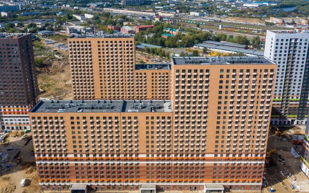 Продажа студии Москва, метро Братиславская, цена 5950000 рублей, 2020 год объявление №503507 на megabaz.ru