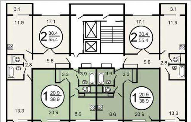 Продажа двухкомнатной квартиры Москва, метро Бульвар адмирала Ушакова, Плавский проезд 6к1, цена 9590000 рублей, 2021 год объявление №396122 на megabaz.ru