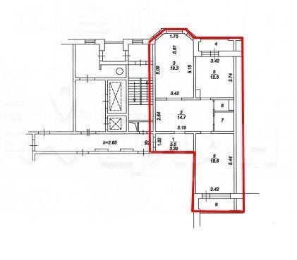 Продажа двухкомнатной квартиры деревня Федурново, метро Новокосино, улица Авиарембаза 10, цена 6590000 рублей, 2020 год объявление №425689 на megabaz.ru