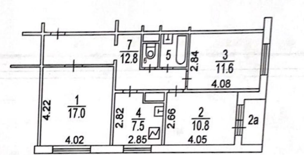 Продажа трёхкомнатной квартиры Москва, метро Беговая, улица Поликарпова 8, цена 13500000 рублей, 2020 год объявление №419661 на megabaz.ru