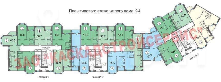 Продажа однокомнатной квартиры деревня Федурново, цена 2950000 рублей, 2020 год объявление №506418 на megabaz.ru