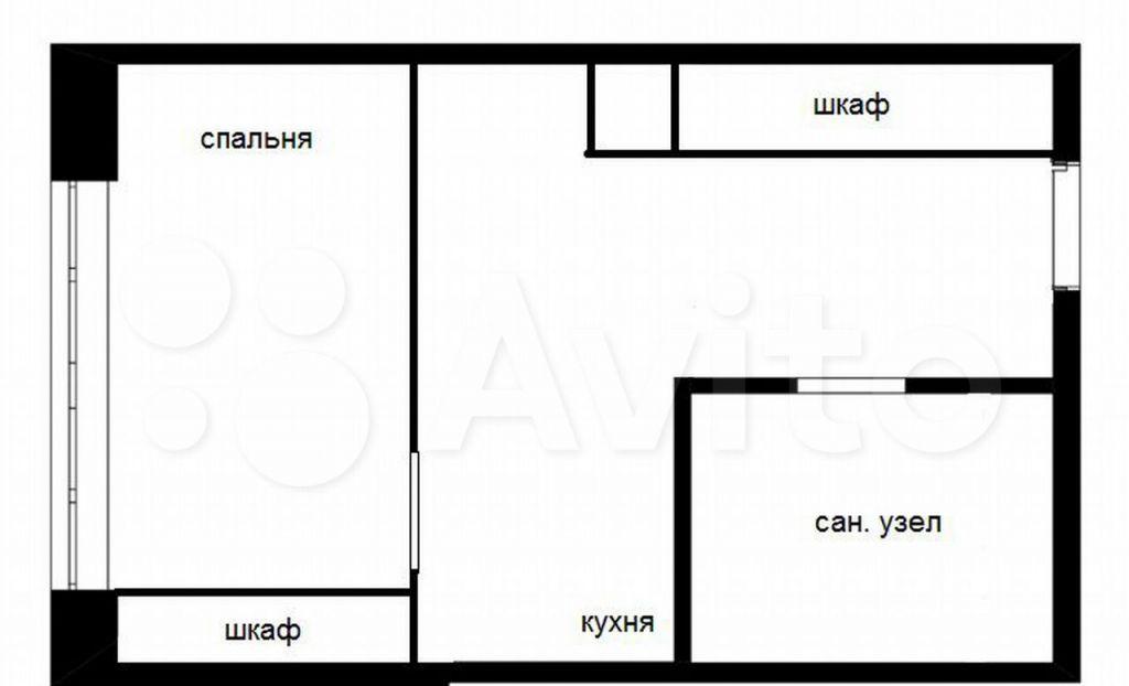 Аренда однокомнатной квартиры деревня Большие Жеребцы, цена 21000 рублей, 2021 год объявление №1453918 на megabaz.ru