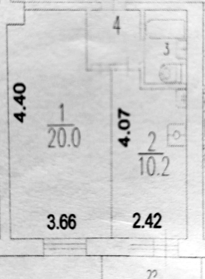 Продажа однокомнатной квартиры Москва, метро Кузьминки, Окская улица 12к2, цена 7350000 рублей, 2021 год объявление №498621 на megabaz.ru