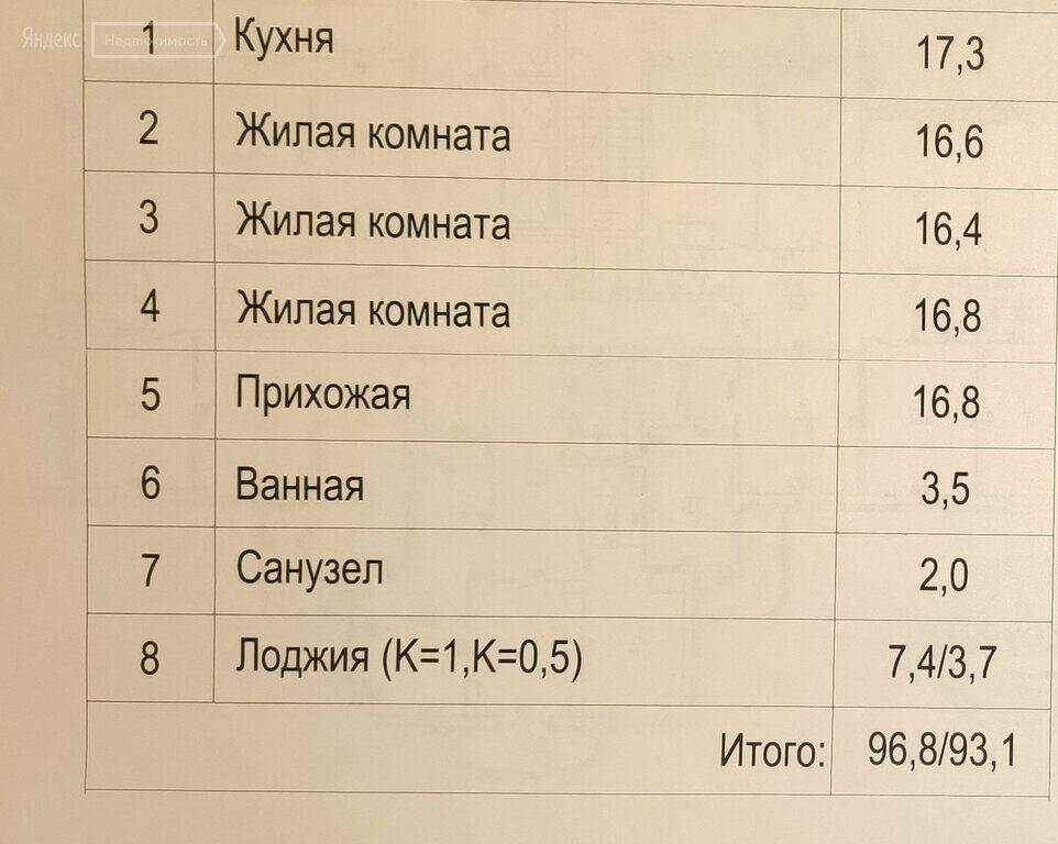 Продажа трёхкомнатной квартиры Балашиха, метро Новогиреево, улица Дёмин Луг 6/5, цена 13700000 рублей, 2021 год объявление №581654 на megabaz.ru