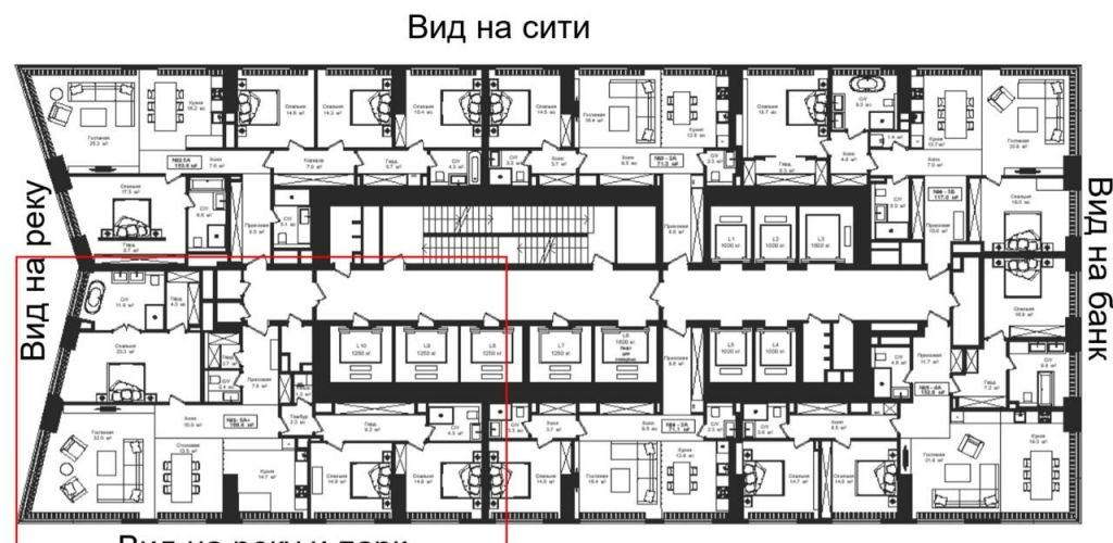 Продажа пятикомнатной квартиры Москва, метро Выставочная, цена 140000000 рублей, 2020 год объявление №398934 на megabaz.ru
