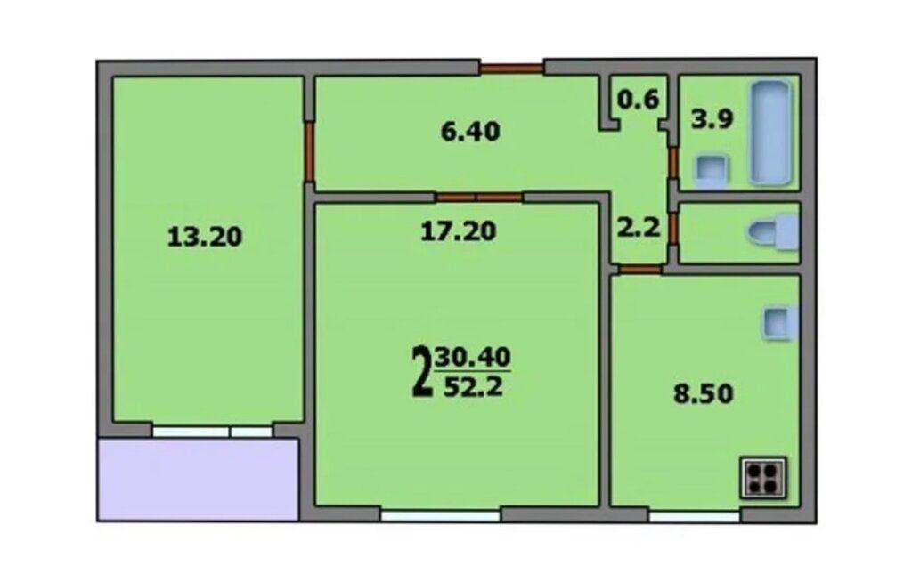 Продажа комнаты Москва, метро Борисово, Братеевская улица 25к3, цена 2000000 рублей, 2020 год объявление №439220 на megabaz.ru