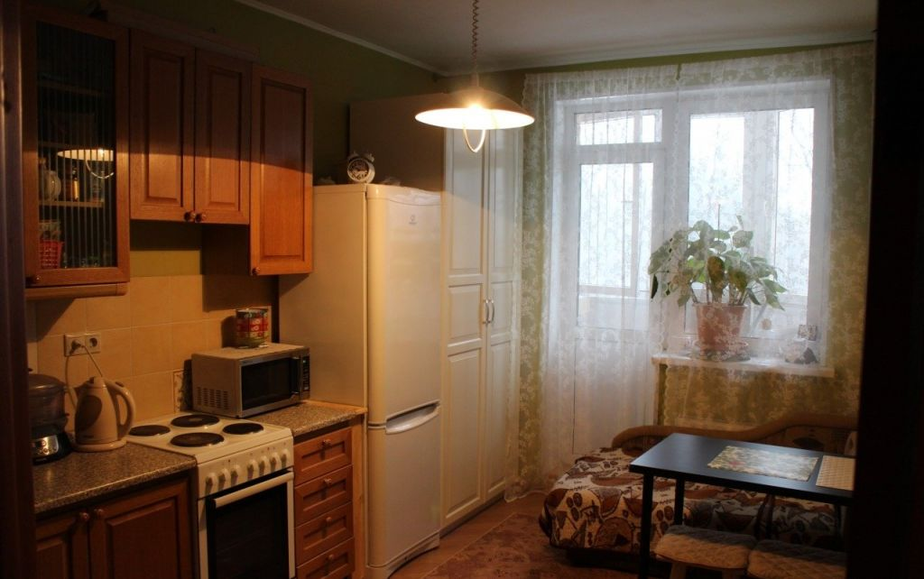 Аренда однокомнатной квартиры Краснознаменск, Парковая улица 2, цена 18000 рублей, 2020 год объявление №1119625 на megabaz.ru