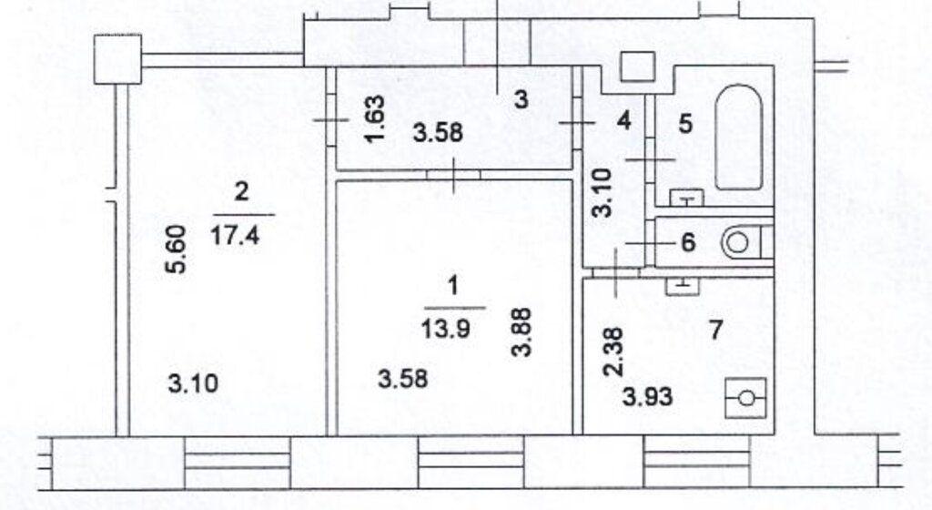 Продажа двухкомнатной квартиры Москва, метро Тверская, Тверская улица 15, цена 31000000 рублей, 2021 год объявление №400771 на megabaz.ru