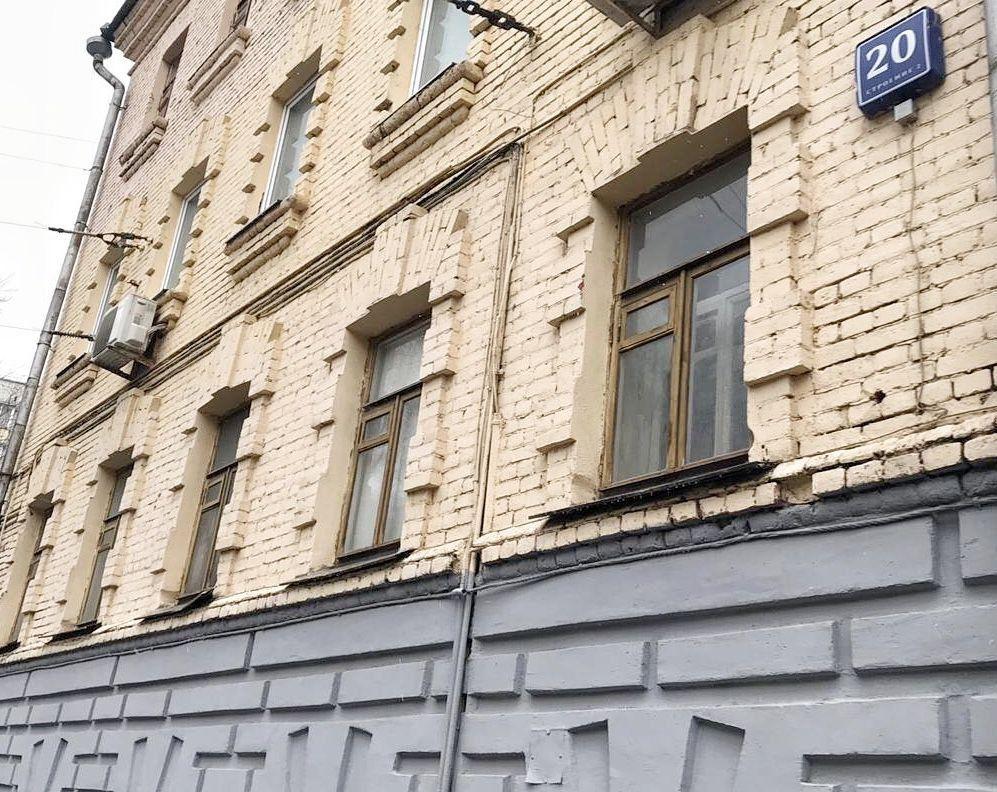 Продажа студии Москва, метро Бауманская, Бауманская улица 20с2, цена 4190000 рублей, 2020 год объявление №404292 на megabaz.ru