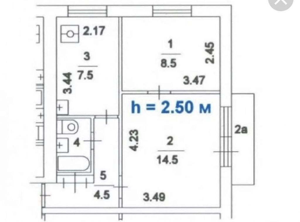 Продажа двухкомнатной квартиры Москва, метро Электрозаводская, улица Госпитальный Вал 10/12, цена 9300000 рублей, 2021 год объявление №363074 на megabaz.ru
