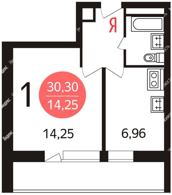 Аренда однокомнатной квартиры Москва, метро Свиблово, Ярославское шоссе 59, цена 38000 рублей, 2020 год объявление №1061080 на megabaz.ru