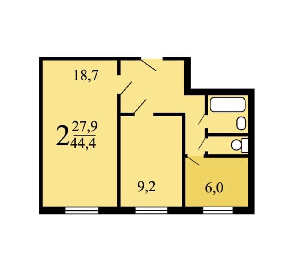 Продажа двухкомнатной квартиры Москва, метро Шипиловская, Борисовский проезд 12к1, цена 7999999 рублей, 2020 год объявление №445398 на megabaz.ru
