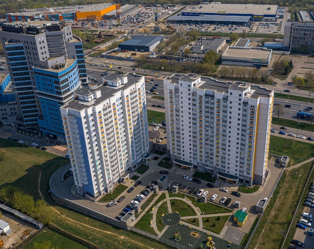 Аренда однокомнатной квартиры Москва, метро Южная, Варшавское шоссе 120к2, цена 41000 рублей, 2020 год объявление №1058744 на megabaz.ru