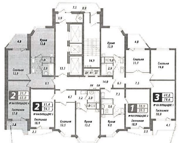 Продажа двухкомнатной квартиры Москва, метро Нагорная, Электролитный проезд 16к3, цена 16900 рублей, 2020 год объявление №425782 на megabaz.ru