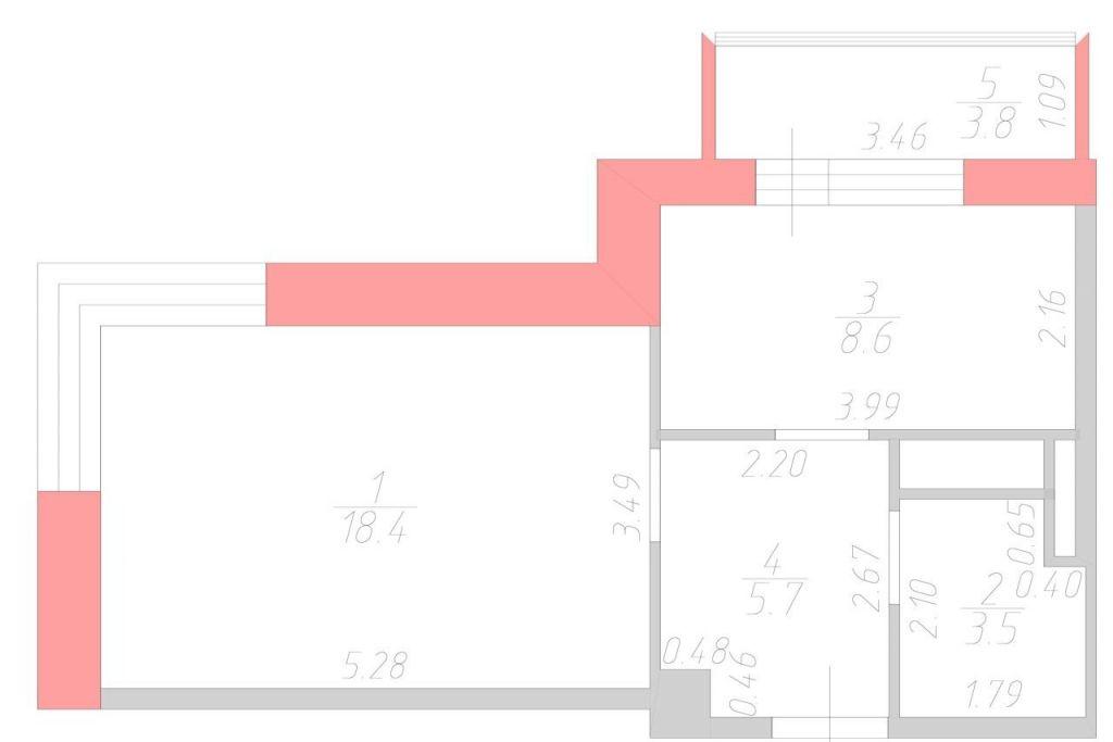 Продажа однокомнатной квартиры деревня Исаково, цена 4600000 рублей, 2021 год объявление №382853 на megabaz.ru