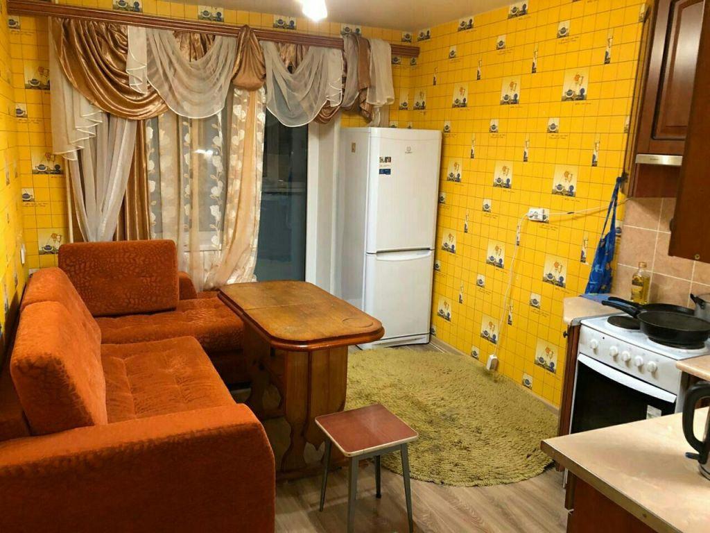 Аренда однокомнатной квартиры Электросталь, проспект Ленина 2к4, цена 18000 рублей, 2020 год объявление №1133426 на megabaz.ru