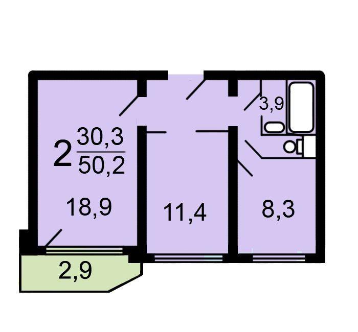 Продажа двухкомнатной квартиры Москва, метро Борисово, Братеевская улица 21к2, цена 7900000 рублей, 2020 год объявление №428221 на megabaz.ru