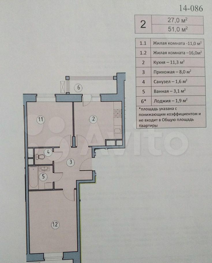 Продажа двухкомнатной квартиры село Николо-Урюпино, цена 5200000 рублей, 2021 год объявление №565897 на megabaz.ru