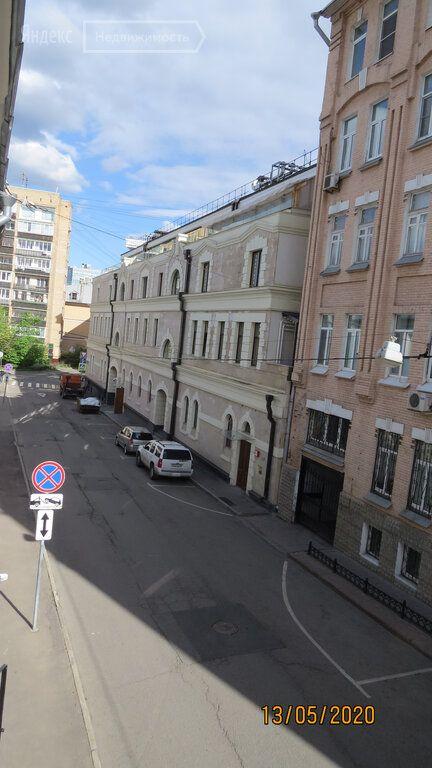 Продажа студии Москва, метро Трубная, 1-й Колобовский переулок 11, цена 7900000 рублей, 2020 год объявление №430897 на megabaz.ru