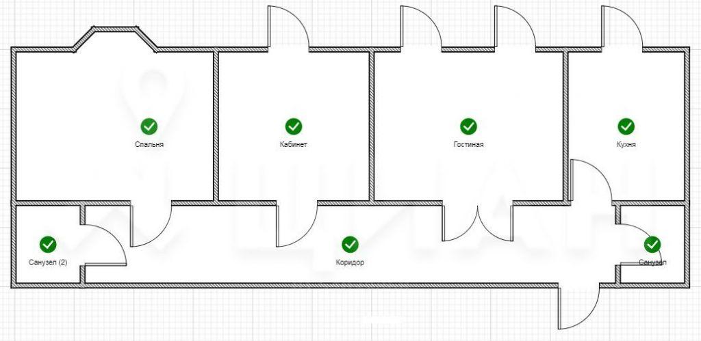Аренда трёхкомнатной квартиры Москва, метро Лубянка, Милютинский переулок 3, цена 180000 рублей, 2020 год объявление №1130370 на megabaz.ru