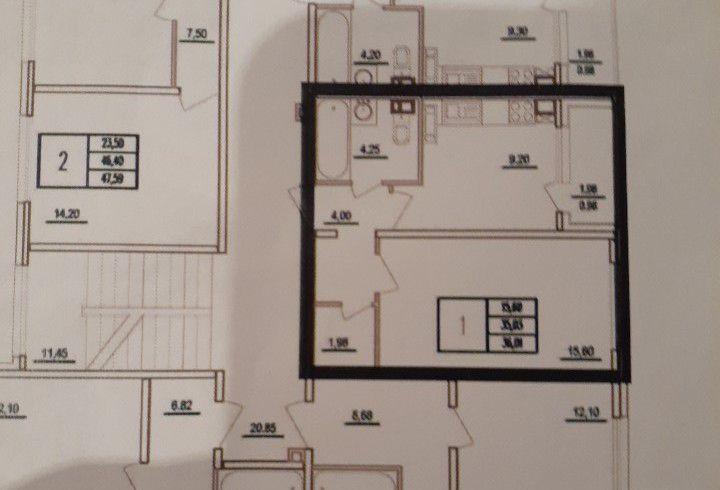 Продажа однокомнатной квартиры деревня Чёрная, Широкая улица 17, цена 4500000 рублей, 2020 год объявление №426165 на megabaz.ru