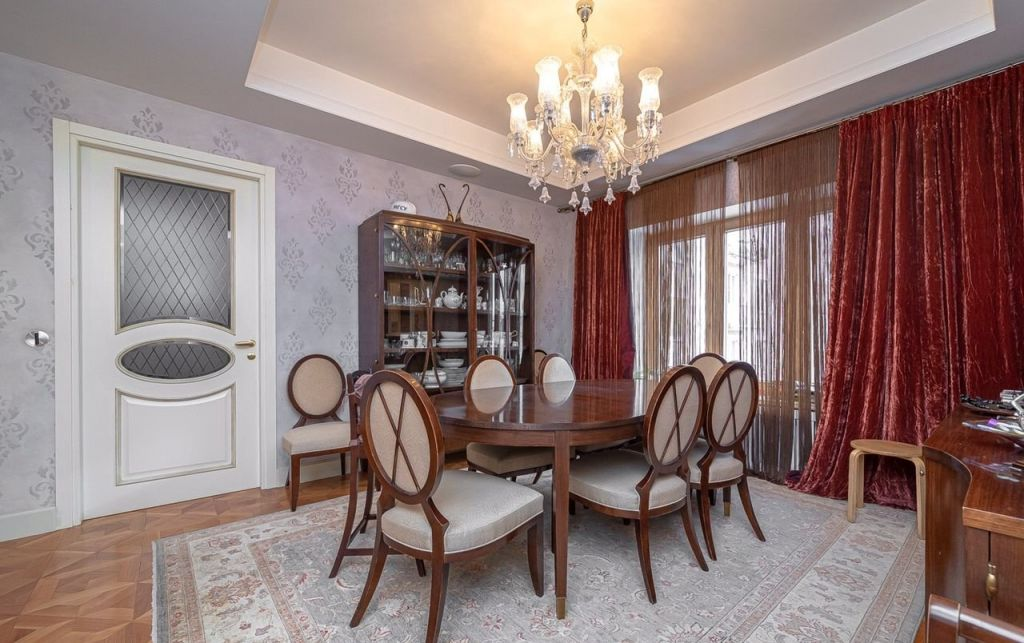 Продажа пятикомнатной квартиры Москва, метро Баррикадная, Малый Патриарший переулок 5с2, цена 68900000 рублей, 2021 год объявление №405448 на megabaz.ru