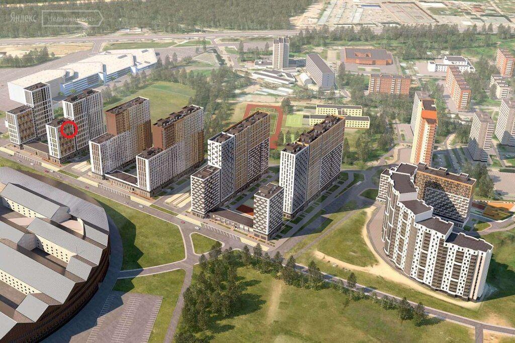 Продажа студии рабочий поселок Новоивановское, цена 4500000 рублей, 2021 год объявление №498409 на megabaz.ru