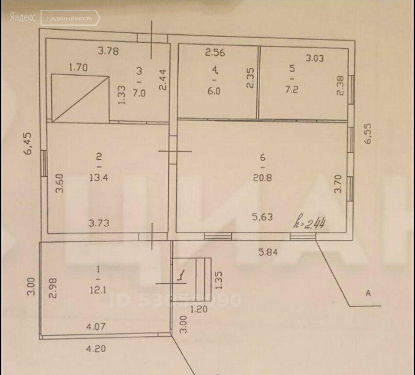 Продажа дома деревня Жданово, цена 3500000 рублей, 2020 год объявление №410169 на megabaz.ru