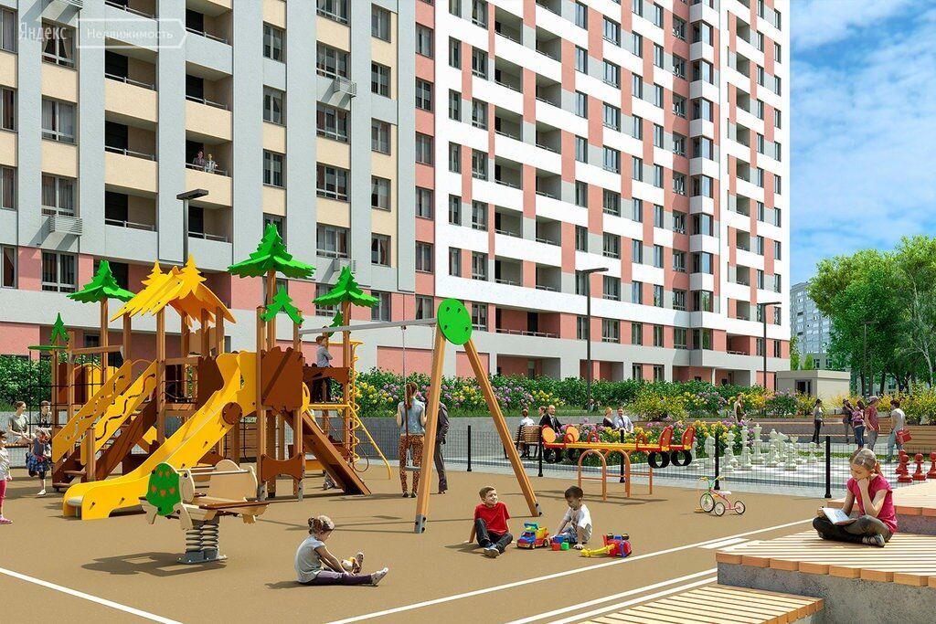 Продажа однокомнатной квартиры рабочий поселок Новоивановское, цена 4560000 рублей, 2021 год объявление №415674 на megabaz.ru