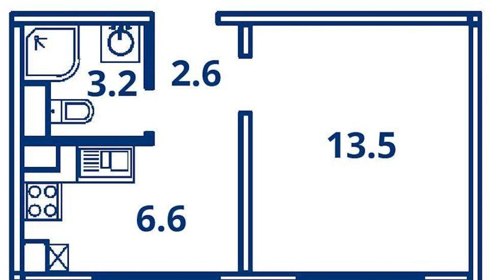 Аренда однокомнатной квартиры деревня Чёрная, Садовая улица 16, цена 17000 рублей, 2021 год объявление №1135988 на megabaz.ru