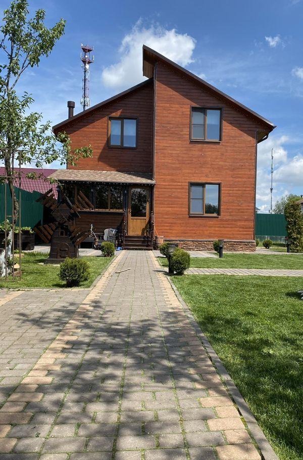 Продажа дома деревня Алёшино, Парковая улица, цена 15000000 рублей, 2021 год объявление №517492 на megabaz.ru