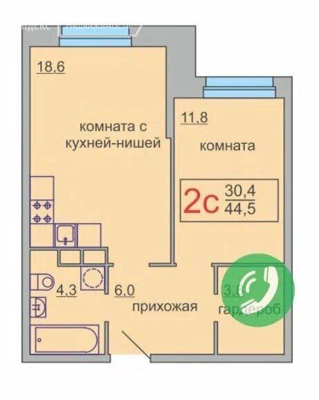 Продажа двухкомнатной квартиры поселок Мебельной фабрики, метро Медведково, Рассветная улица 1А, цена 4700000 рублей, 2021 год объявление №412760 на megabaz.ru