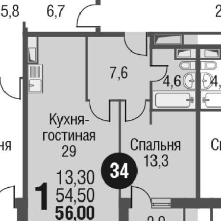 Продажа двухкомнатной квартиры Москва, метро Ботанический сад, цена 11500000 рублей, 2020 год объявление №431292 на megabaz.ru