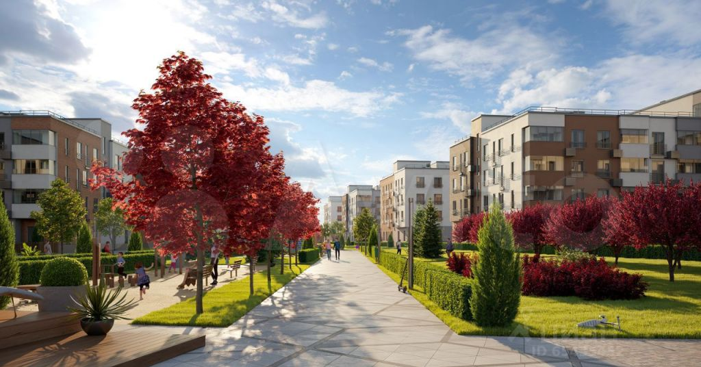 Продажа однокомнатной квартиры село Перхушково, цена 3800000 рублей, 2021 год объявление №674488 на megabaz.ru