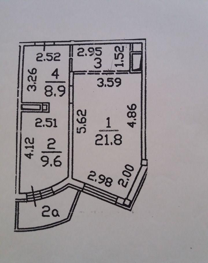 Продажа однокомнатной квартиры Москва, метро Пятницкое шоссе, Ландышевая улица 14к1, цена 10480000 рублей, 2020 год объявление №504319 на megabaz.ru