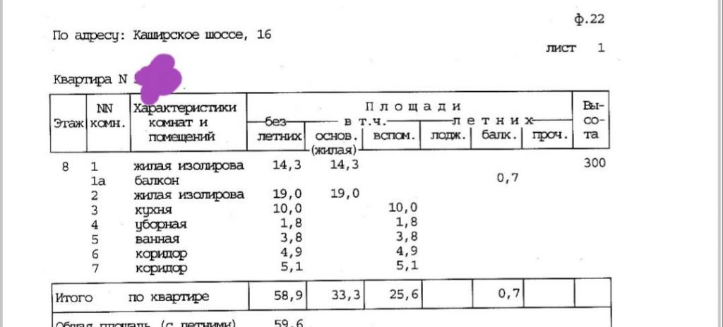 Продажа двухкомнатной квартиры Москва, метро Варшавская, Каширское шоссе 16, цена 12600000 рублей, 2021 год объявление №468612 на megabaz.ru
