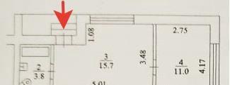 Продажа однокомнатной квартиры село Тарасовка, улица Радио, цена 3150000 рублей, 2021 год объявление №419399 на megabaz.ru