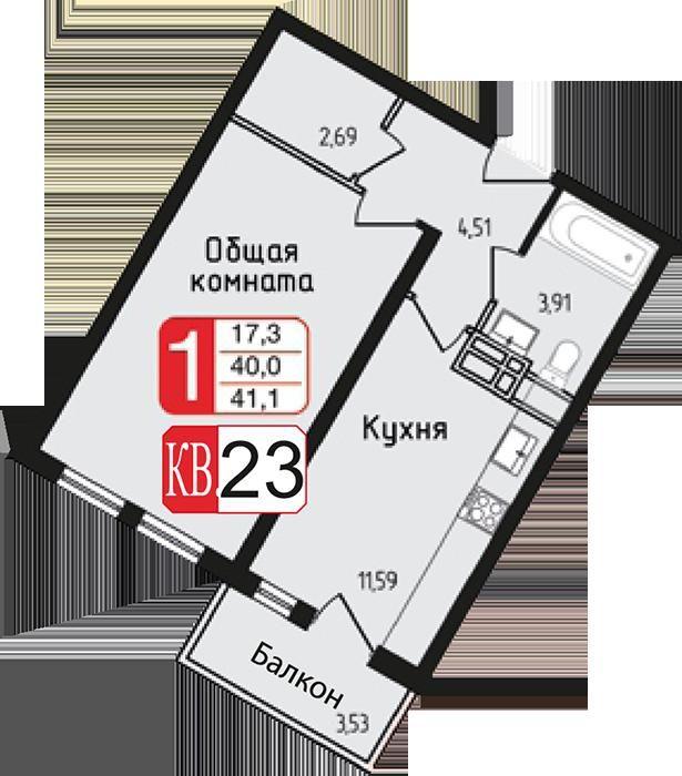 Аренда однокомнатной квартиры село Софьино, цена 15000 рублей, 2020 год объявление №1167461 на megabaz.ru
