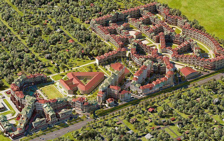 Продажа двухкомнатной квартиры поселок Развилка, метро Домодедовская, цена 6700000 рублей, 2021 год объявление №420940 на megabaz.ru