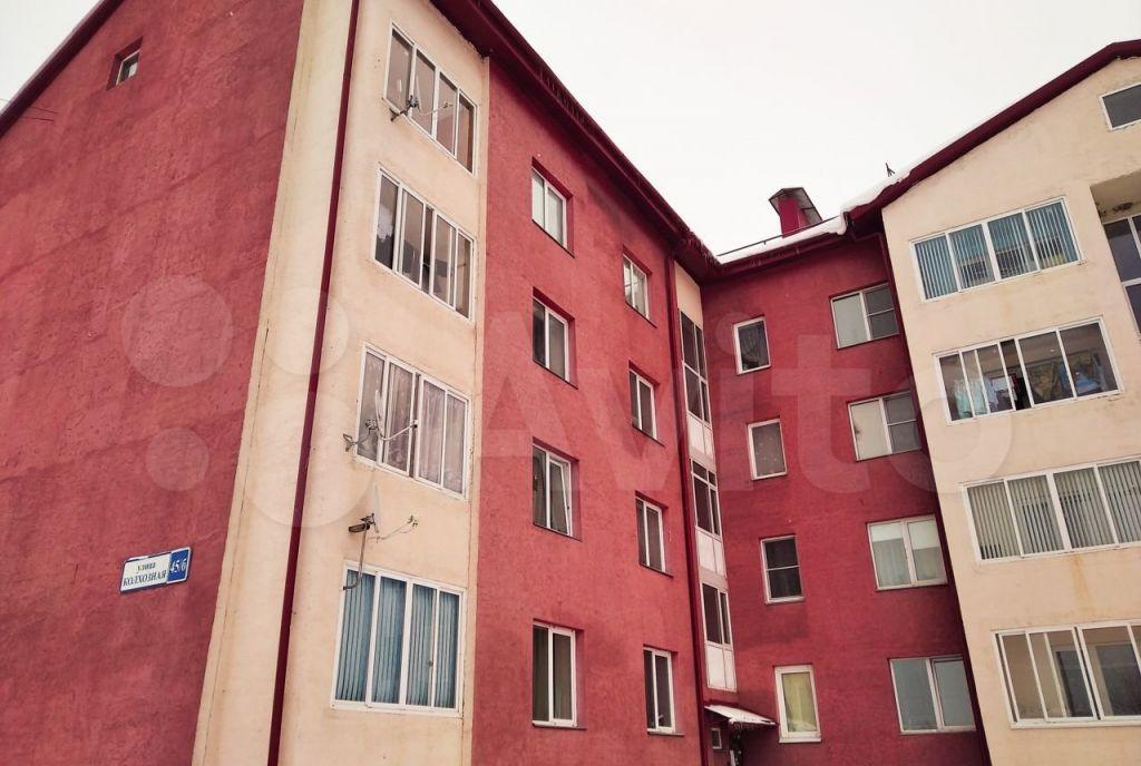 Продажа однокомнатной квартиры село Осташево, Колхозная улица 45Б, цена 1750000 рублей, 2021 год объявление №675272 на megabaz.ru
