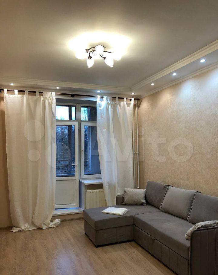 Аренда однокомнатной квартиры деревня Сабурово, Парковая улица 20, цена 25500 рублей, 2021 год объявление №1385004 на megabaz.ru