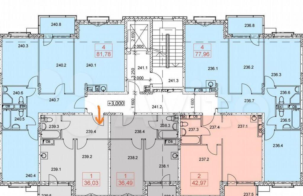Продажа однокомнатной квартиры село Перхушково, цена 3700000 рублей, 2021 год объявление №619795 на megabaz.ru