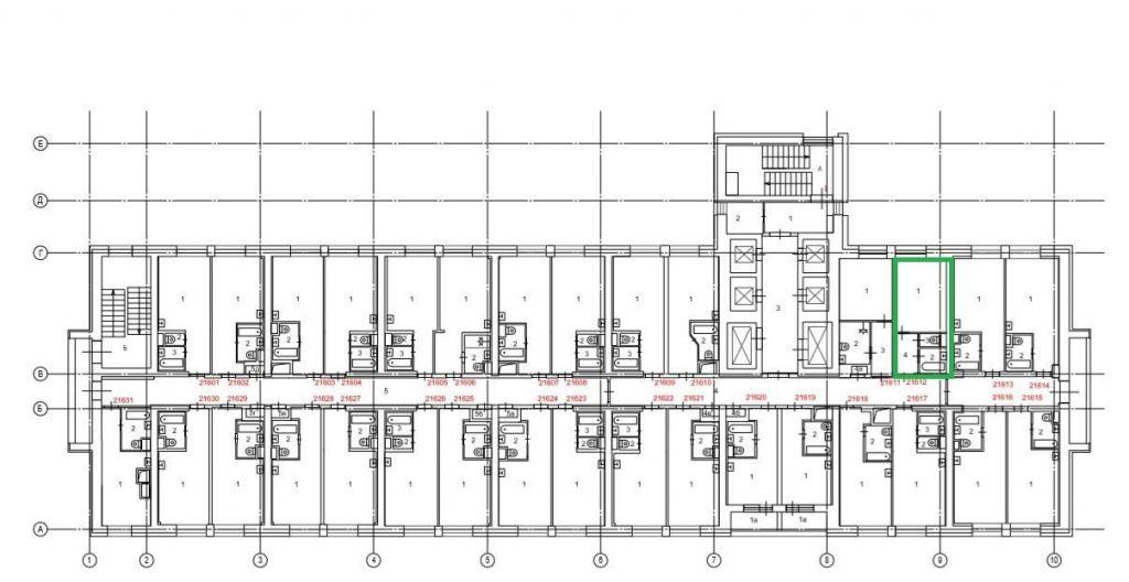 Продажа однокомнатной квартиры Москва, метро Владыкино, Алтуфьевское шоссе 2к1, цена 3100000 рублей, 2020 год объявление №424371 на megabaz.ru