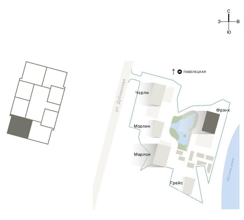 Продажа двухкомнатной квартиры Москва, метро Серпуховская, Дубининская улица 59с2, цена 18000000 рублей, 2020 год объявление №424462 на megabaz.ru