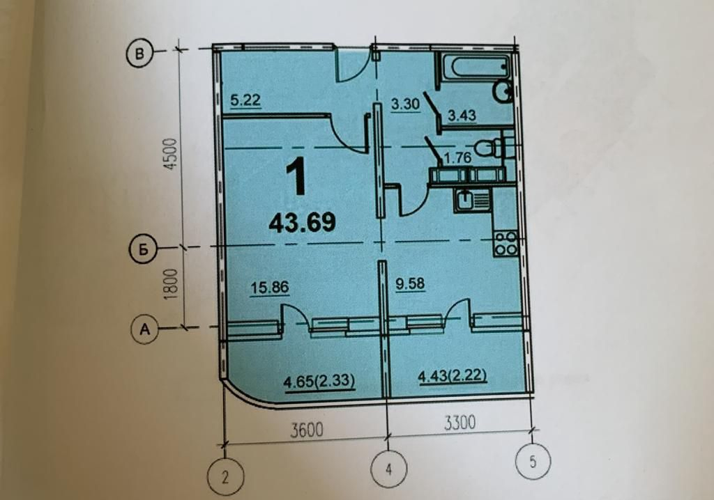 Продажа однокомнатной квартиры Егорьевск, цена 2400000 рублей, 2020 год объявление №441191 на megabaz.ru