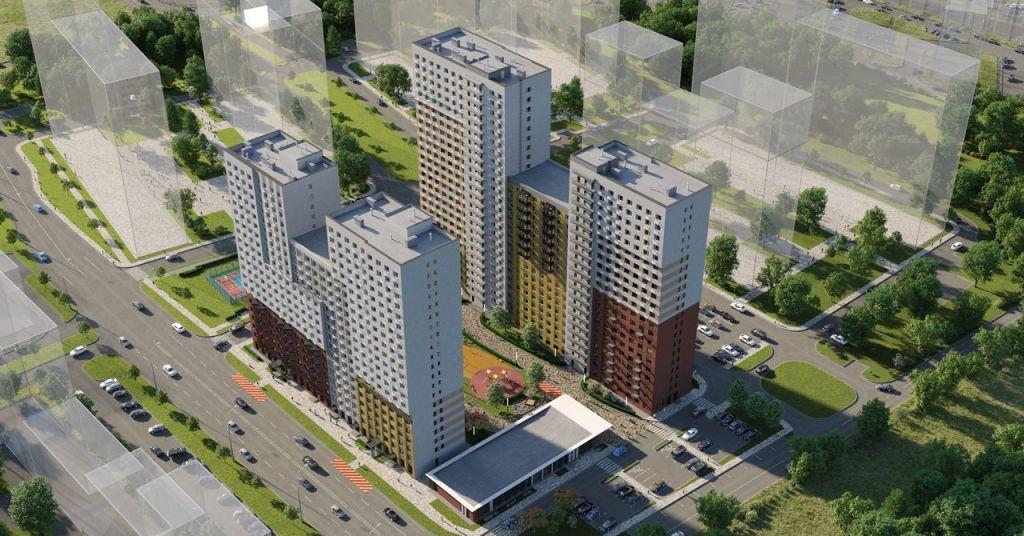 Продажа однокомнатной квартиры Видное, цена 3215635 рублей, 2020 год объявление №502697 на megabaz.ru